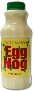 """... . It's safe to say, """"No one knows who mixed the first eggnog"""